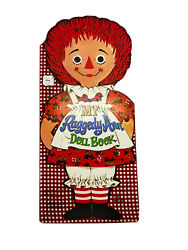 Raggedy Anne Paper Doll Book 1967 Vintage New