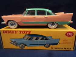 Dinky Toys Rare 1950's Plymouth Plaza No 178 Mint Ex Shop Stock Wow