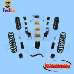 Suspension Lift Kit Rancho For 07-10 Jeep Wrangler Unlimited X 4wd