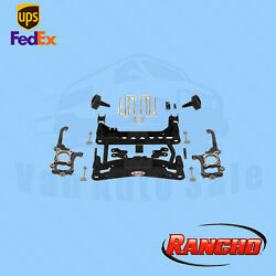 Suspension 4 Fr And 2.5 R Lift Kit Rancho For 2010-2014 Ford F-150 Platinum 4wd