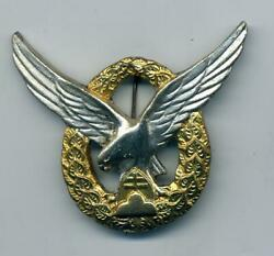 Wwii Slovakian Pilots Badge As Worn By German Luftwaffe Members, And Her Allies