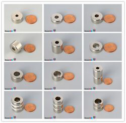Multiple Size 19mm 3/4outer Diameter Rare Earth Neodymium Ring Magnets
