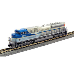 Kato N Sd70ace - Dcc And Sound - Union Pacific 'george Bush Library And Museum'