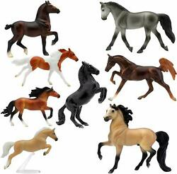Breyer Stablemates Wild at Heart Horse Deluxe 8 Horse Collection Toy Set
