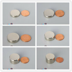 Multiple Size 22mm 7/8 Length Thick Rare Earth Neodymium Disc Magnets