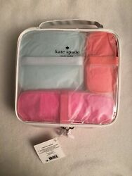Kate Spade Cosmetic Bag Collection 4 Piece Set BRAND NEW $49.95