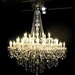 TOP Luxury Crystal Chandelier Palace Pendant Lamp Lobby Ceiling LED Light HALL