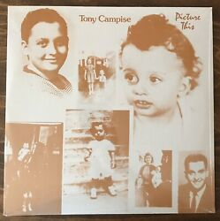 Sealed Rare Oop Tony Campise - Picture This Jazz Lp American Records Ad-3401-80