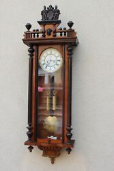 Kienzle Rare Two Weight Wall Clock At 1890