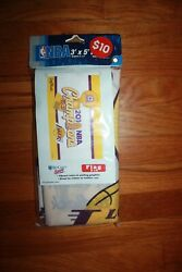 New Sealed Los Angeles Lakers Flag 3and039x 5and039 Flag 2010 Championship Kobe Bryant