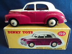 Dinky Toys 1950's Rare Morris Oxford Saloon No159 N/mint Ex Shop Stock