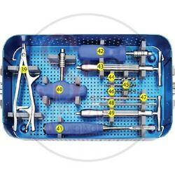 Surgical Screw Removal Instrument Set Universal Orthopby Sandd Of Best Quality.