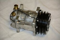 Chevy 508 V Belt A/c Air Conditioning Compressor And Driver Side Bracket Bbc Lwp