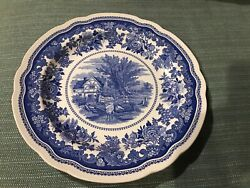 """""""pastures"""" English Countryside Dinner Plate Blue Room Collection By Spode 10.5"""""""