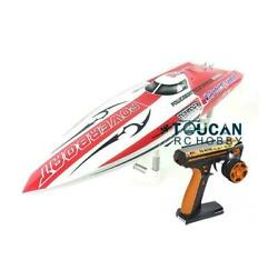 Dt E26 Rtr Rc Electric Boat Fiber Glass With Battery Esc Rudder Radio Motor