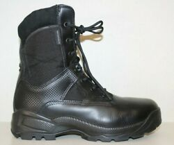 511 TACTICAL Atac Storm 8quot; Mens Boot Sz 10.5 W Soft Toe Black Leather Waterproof