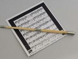 Conductors Baton Attributed To Durham Light Infantry - James Ord Hume