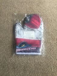 Rare-cleveland / Lake Erie Monsters Oven Mitt Sga Ahl-super Hard To Find New