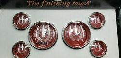 Classic Instruments Red Steelies Gauges V8rs01shc Free Shipping
