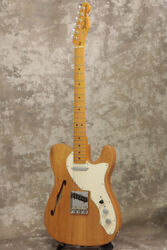 New Fender Usa American Original 60s Telecaster Thinline Maple Aged Natural