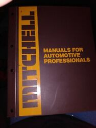 Mitchell Manuals Auto Pros Chassis Service And Repair Dom. Light Trucks And
