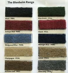 Lhd Or Rhd Light Colour Tvr Carpet Sets - Shipped Worldwide