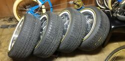 Set Of 4 235 55 R 17s Tires And Rims Only Adapters Not Included