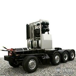 Lesu 88 Metal Chassis W/ Servo For 1/14 Benz 3363 Tamiya 56352 Rc Tractor Truck