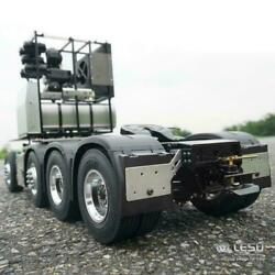 Lesu 88 Metal Chassis For 1/14 Rc Benz Highline 1851 3363 Tractor Truck Diy