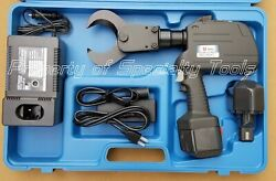 Huskie Rec-560yc Battery Operated 14.4v Robo Aluminum Copper Cable Cutter