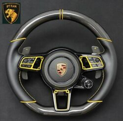 Porsche Panamera 970 Carbon Steering Wheel Real Carbon Made In Germany