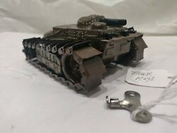 Vintage Tin Litho Toy Tank, Made In Japan With Key. Works And Moves. Very Cool.