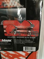 New Nfl Cleveland Browns Car Truck Windshield Folding Sun Shade Large Size