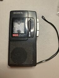 Sony Recorder Voice Operated Recording Vor Model M-660v As Is