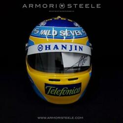 Fernando Alonso 2006 Signed Autographed F1 Helmet Full Size 1/1 Scale Display He