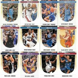 Complete Your Set 2011-12 Nba Hoops Basketball Cards 1-278 Curry Durant Lebron