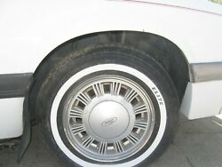 1985 Ford Mustang 14 X 5-1/2 Polycast Wheels / Rims Caps Trim Rings