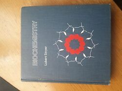 Biochemistry By Lubert Stryer 1975, Hardcover 1st Edition Rare And Collectible
