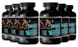 Creatine Monohydrate Powder 3x 5000mg Hcl Pre Workout 540 Capsules 6 Bottles