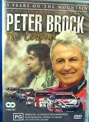 New 7 Sport 2 Dvd Peter Brock The Legend 35 Years On The Mountain Collectables