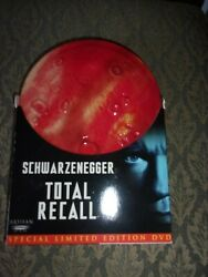 Total Recall- Dvd Set- With Steel Case - Schwarzenegger- Watched Once