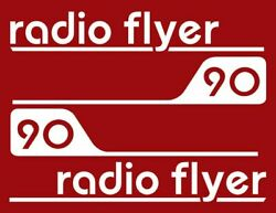 Radio Flyer Wagon Decal Set Water Slide White Backing, Laser Printed With Text