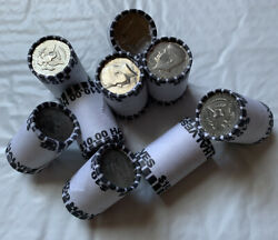 Lot Of 9 Bank Sealed Kennedy Half Dollar Coin Roll - 90 Fv Unsearched Coin Lot