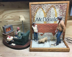 Michael Garman Retired Rare Mcwall And Mctv Not Sold To Public Sculptures Vintage