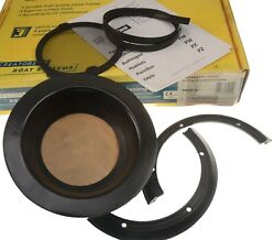 Vetus Round Opening Porthole Marine Black With Screen Pw Series Pw201a