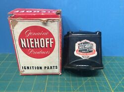 Niehoff Ignition Coil Ff-177 Unused Original In Box Usa Made Vintage Car Parts