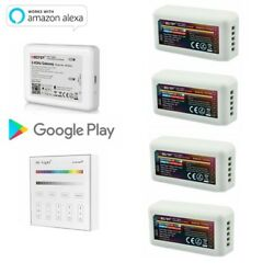 Miboxer Smart Remote Wall Mount Controller For 5pin Rgbw Led Strip Light 5050