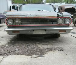 1964 Dodge 880 Grille Assembly With Headlight Bezels
