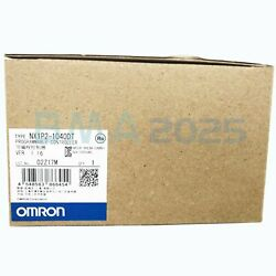 1pc Brand New Omron Nx1p2-1040dt Plc Controller 1year Warranty Dhl Free Ship