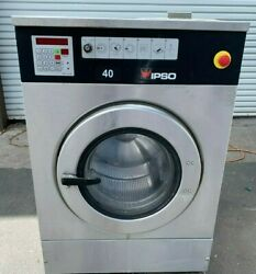 Ipso Front Load Stainless Steel Washer Opl 240v 60hz S/n 05080190163 [refurb]